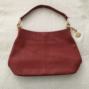 Tommy Hilfiger Women's Red Leather Bag